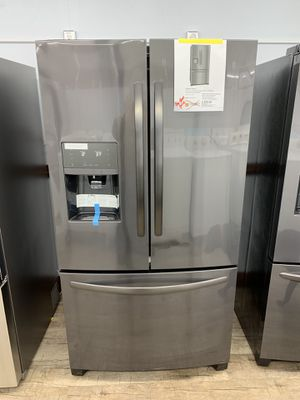 New French door refrigerator fridge 90 days warranty garantia por escrito for Sale in Dallas, TX