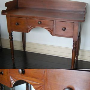 Primitive Antique 1800s Desk / Console Table for Sale in Seattle, WA