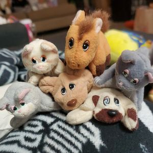 Vintage Mini Pound Puppies Plush Toys for Sale in Independence, OH