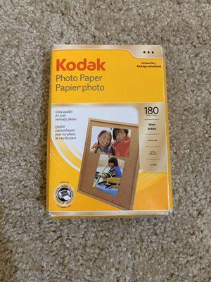 Kodak Photo Paper, gloss , 4x6 in. 180 sheets for Sale in Hayward, CA