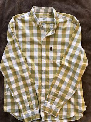 Burberry Mens Long Sleeve Dress Shirt for Sale in San Jose, CA