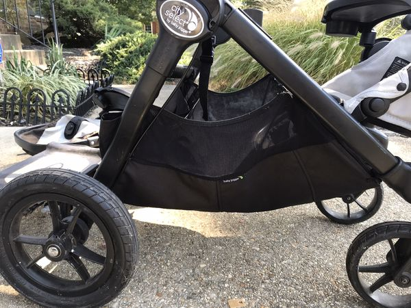 City select double stroller and accessories