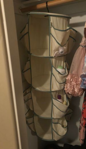 Hanging closet organizer/storage for Sale in Sun City, AZ