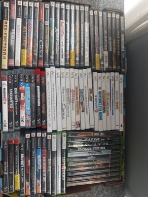 Video games PS2 PS3 Xbox Xbox 360 Nintendo Wii $3 to $10 each for Sale in Brookfield, IL