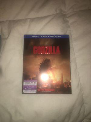 GODZILLA BLUE-RAY + DVD +Digital HD for Sale in Aliso Viejo, CA