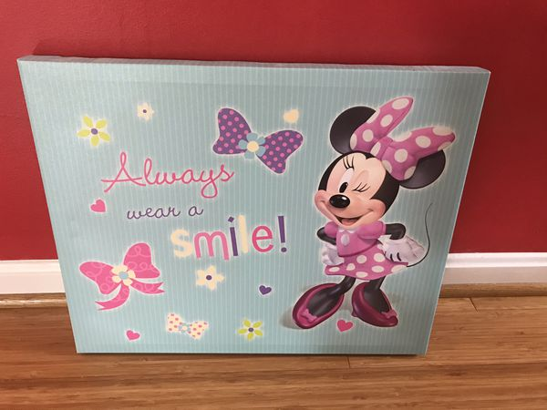 Minnie Mouse Canvas Picture