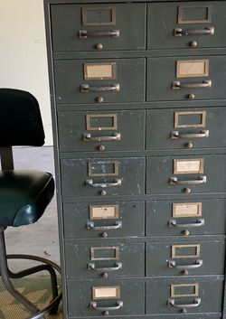 Antique Photo File Cabinet for Sale in Marina del Rey,  CA
