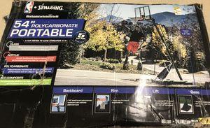 Portable Basketball Goal for Sale in Chester, SC