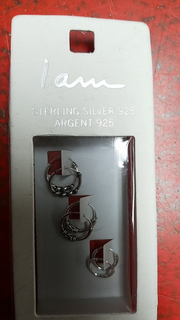 Stirling Silver 925 earing set