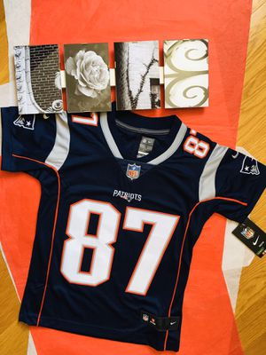 ❤️NWT NIKE YOUTH ROB GRONKOWSKI JERSEY❤️ for Sale in Chicopee, MA