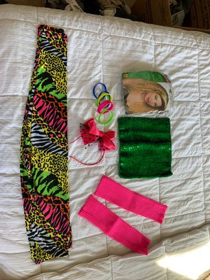 80's inspired constume! for Sale in New Braunfels, TX