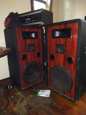 """Pro Studio Speakers 15"""" for Sale in Mount Oliver, PA"""