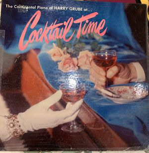 """The Continental Piano of Harry Grube at... """"Cocktail Time"""" album for Sale in McClellan Park, CA"""