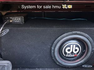 Db drive stereo system for Sale in Newman, CA