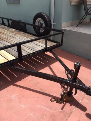 Utility trailer ready to for, moving, etc for Sale in Hialeah, FL