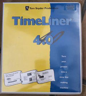 Educational Tom Snyder Productions TimeLiner 4.0 & 2.0 for Sale in Mesa, AZ