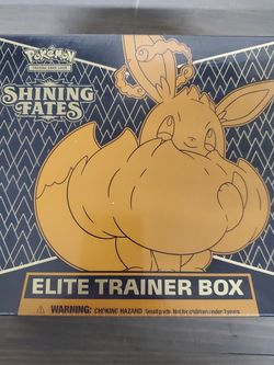 Pokemon Shining Fates ETB Elite Trainer Box for Sale in Stanwood,  WA