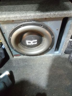 Dc audio 12 inch sub with box for Sale in Waldorf, MD