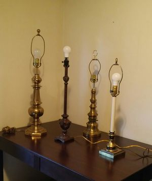 4 Lamps (All Work) for Sale in High Point, NC