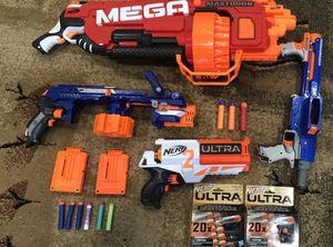 Nerf Guns Lot Ultra Mastodon for Sale in Torrance, CA