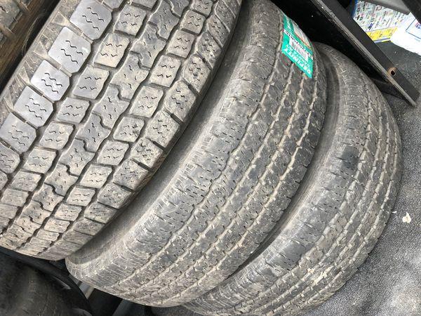 Dodge Ram Van wheels set (4) with LT 225/75/16 tires