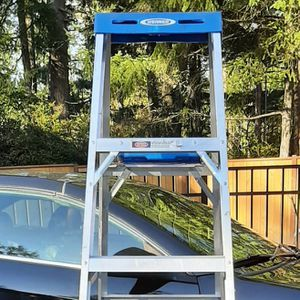 Werner 360 6ft Alum Type 1 -250lbs Capacity Step Ladder for Sale in Gig Harbor, WA