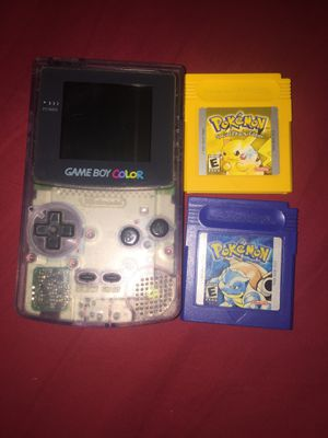 Gameboy color (yellow version) (blue version) for Sale in Silver Spring, MD
