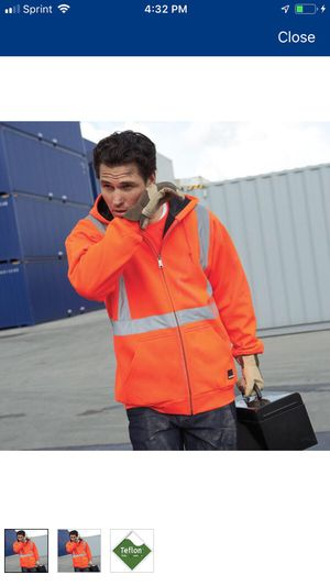 NEW CRAFTSMAN HIGH VISIBILITY WORK HOODIE JACKET SIZE XL for Sale in Palos Hills, IL