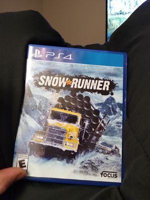 Snow runner ps4 for Sale in Nashville, TN