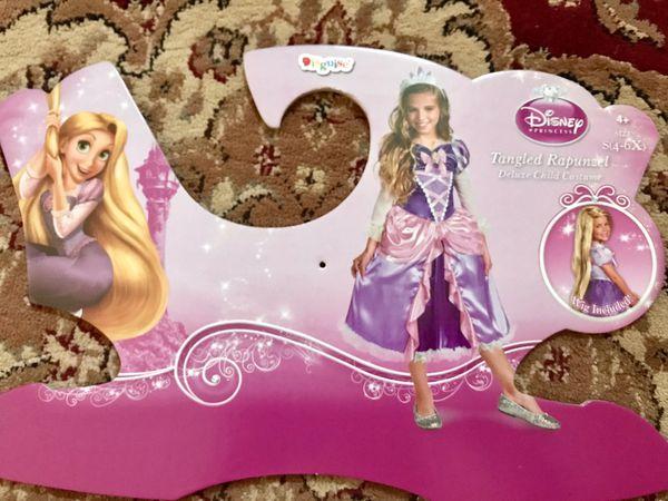 Rapunzel costume size small 4–6