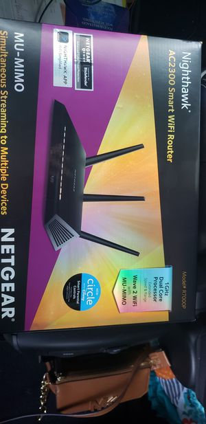Netgear Nighthawk Router for Sale in Tampa, FL