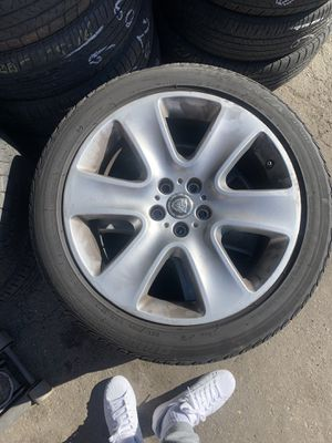 Jaguar rims for sell all tires good for Sale in Los Angeles, CA