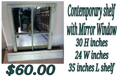 window mirror with shelf for Sale in La Habra Heights,  CA