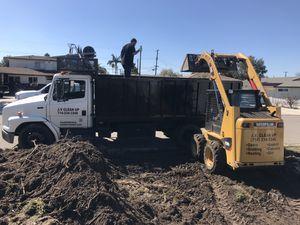 Bobcat dump truck hauling grading demo demolition concrete asphalt dirt for Sale in Pomona, CA