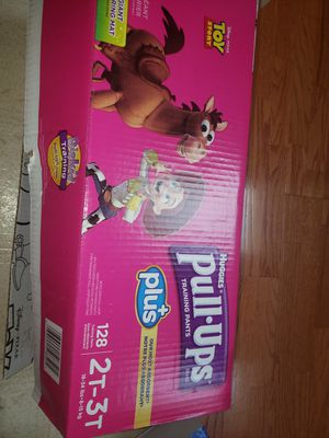 Huggies Pull Ups Size 2t -3t for Sale in Houston, TX