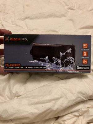 Blackweb Bluetooth Speaker for Sale in Hannibal, MO