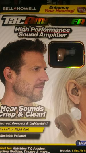 TAC AMPLIFIER HIGH PERFORMANCE EAR PIECE for Sale in Columbus, OH