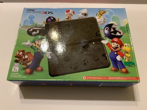 Rare New Nintendo 3DS Mario Black Edition is new condition. Never been used. for Sale in Templeton, MA