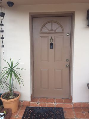 """Metal Door 36x80"""" w new frame jamb For home Right Hand Out swing steel door for Sale in Miami Gardens, FL"""