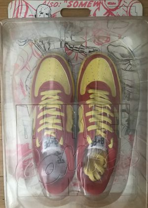 2005 A Bathing Ape x Marvel Iron Man Bapesta's Size 10 BAPE for Sale in Cutler Bay, FL