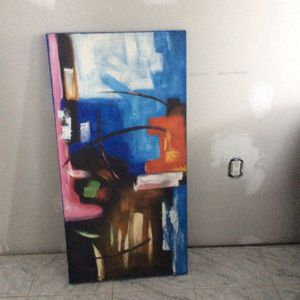 Colorful art canvas (hand made) for Sale in Melrose Park, IL