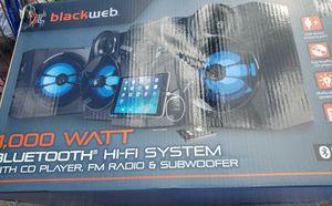Blackweb 1000 watt system for Sale in San Antonio, TX