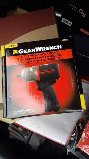 Gear Wrench impact air gun for Sale in Hyattsville, MD