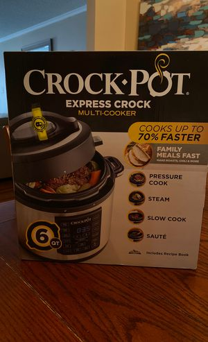 Crockpot Express Crock -6qt- New in Box- Undamaged-Never Opened for Sale in Garland, TX