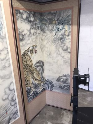 Oriental canvas for Sale in Lombard, IL