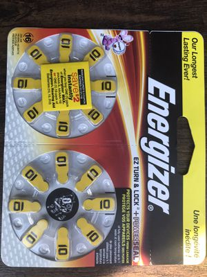 Energizer EZ TURN & LOCK + POWERSEAL 16. Lot Of 10. Brand New! Never Used. for Sale in Bethesda, MD
