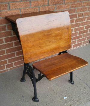 Antique Folding School Desk for Sale in Chicago, IL