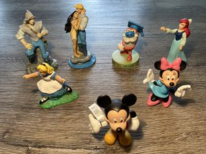 Rare vintage Disney and Nickelodeon figurines - 80s and 90s for Sale in Littleton, CO