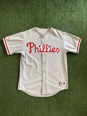 Ryan Howard Philedlphia Phillies Majestic Stitched MLB Jersey. Men's L Large for Sale in Tamarac, FL