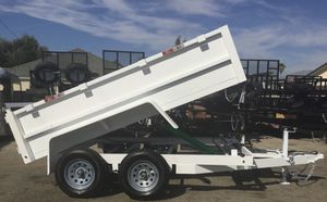 8x10x2 DUMP TRAILER (3.5K) for Sale in Arcadia, CA